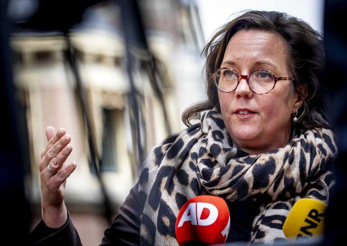 Tamara van Ark, demissionair minister voor Medische Zorg.