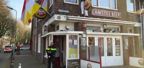 Politie-inval bij café 't Engeltje in Den Bosch