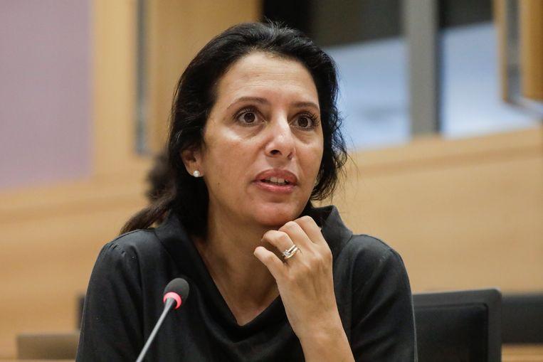 Ecolo's Zakia Khattabi  Beeld BELGA