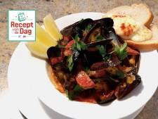 Recept van de dag: Mosselen met tomaten-chorizosaus