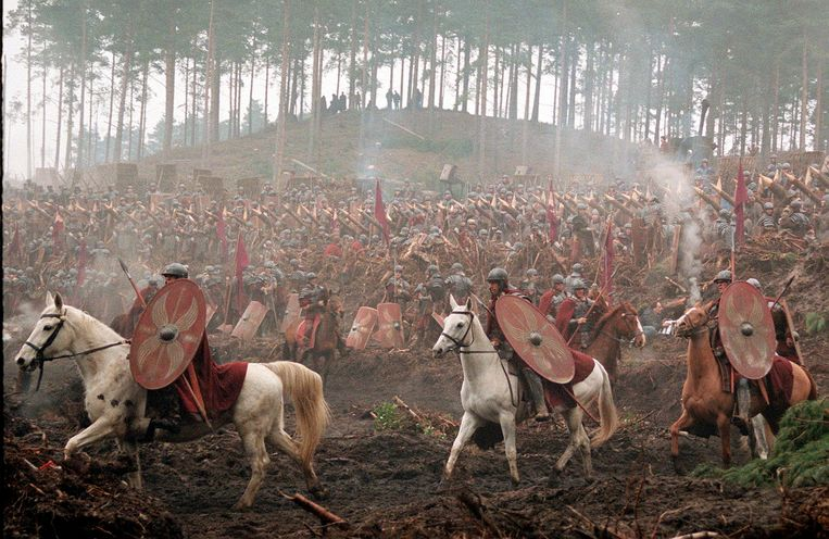 De stoïcijnse inzichten ontstonden op het slagveld: om de gemoedsrust te bewaren in extreme situaties.  Beeld Getty