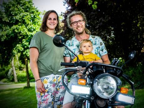 Giel (34) gaat zelfs naakt op zijn motor rijden om geld op te halen voor kinderen met hartproblemen