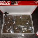 Drugs verborgen in een puzzeldoos.