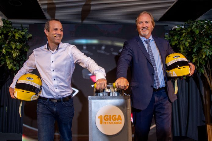 Chief Technology Officer Micha Berger en CEO John Porter kondigden de upgrade vandaag aan tijdens een persconferentie.