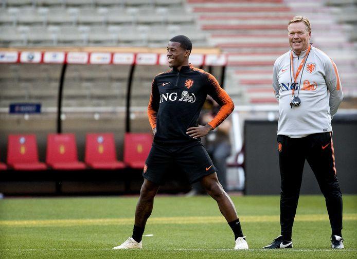 Ronald Koeman en Georginio Wijnaldum, volgend jaar actief voor dezelfde club?