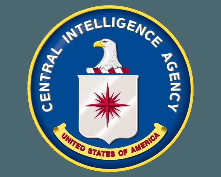 Het officiële logo van de CIA. Beeld