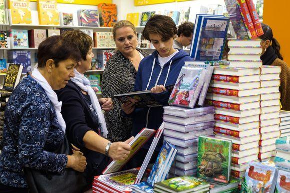 Tijdens het eerste weekend vonden bijna 6.500 mensen de weg naar de Boekenbeurs.