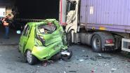 Straf: bestuurster van deze Clio slechts lichtgewond