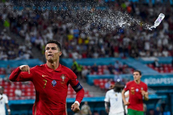 Ronaldo na zijn benutte strafschop.
