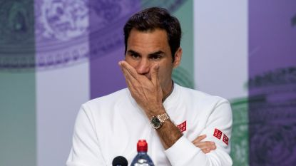 Roger Federer neemt maand rust na slopende finale op Wimbledon
