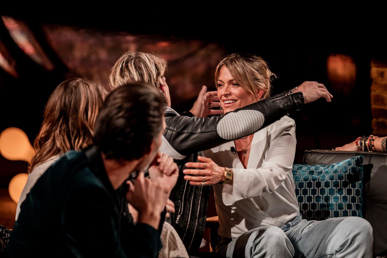 Liefde voor Muziek; seizoen 6 vanaf maandag 30 maart 2020 bij VTM. Op de foto: Sean Dhondt, Gene Thomas & Karen Damen Beeld VTM