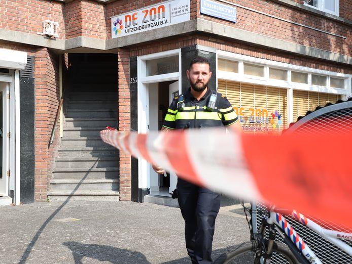 Uitzendbureau overvallen in Laakkwartier