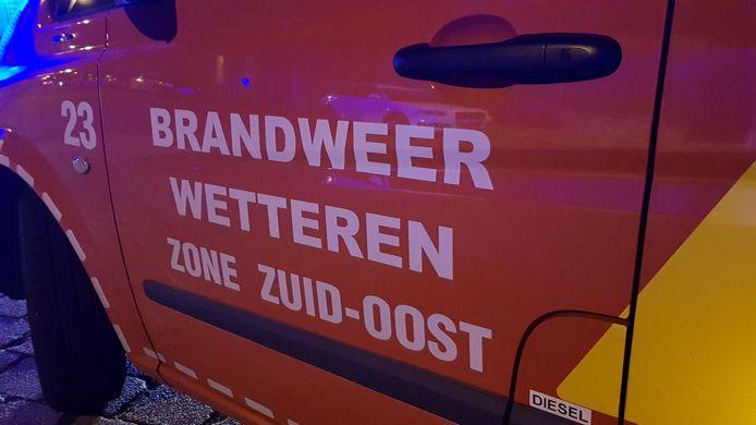 Brandweer Wetteren kwam ter plaatse om CO metingen uit te voeren.