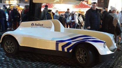 Brusselse politie test 'batmobiel' met hoogtechnologische camera