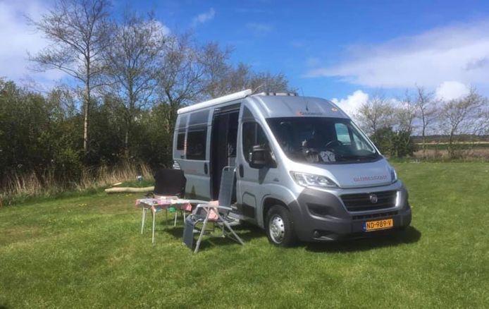 De camper van Marieke in Goirle.