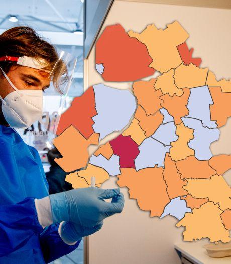 KAART | Nunspeet opnieuw uitschieter met besmettingscijfers, ook flinke stijging in Meppel