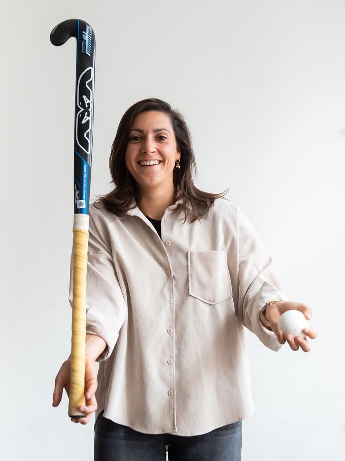 Hockeyster Malou Pheninckx hoopt dat ze deel uitmaakt van het team voor de Olympische Spelen in Tokio.
