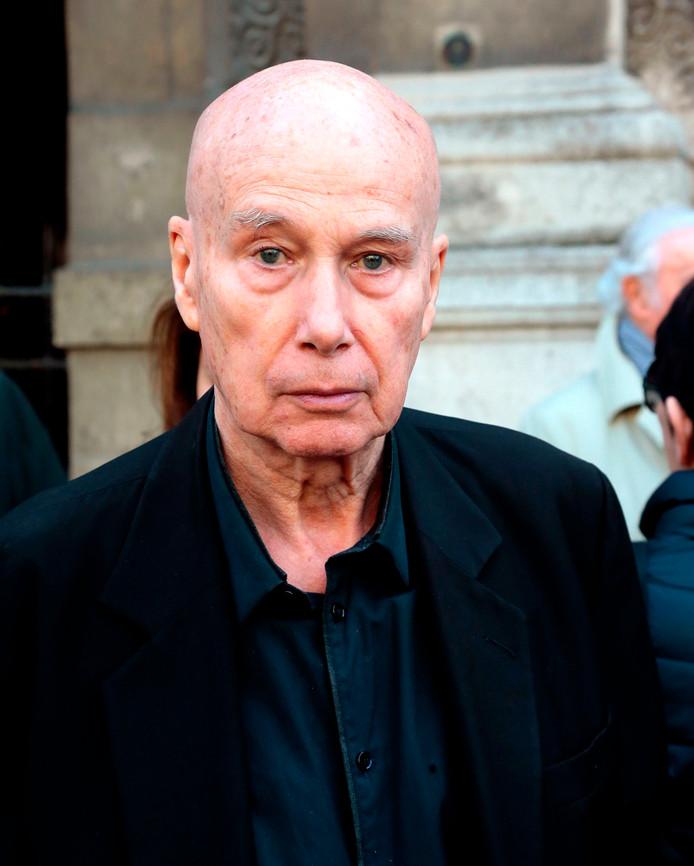 L'écrivain français Gabriel Matzneff.