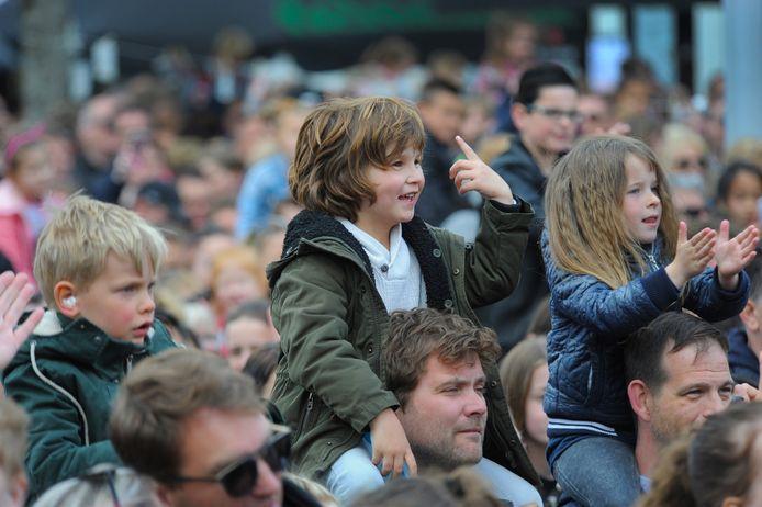 Het bevrijdingsfestival in Vlissingen in 2019.