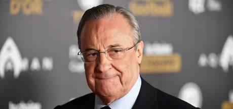 """Florentino Perez: """"Le projet de Super League est en stand-by"""""""