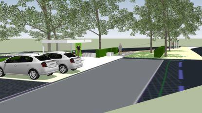 Mobipunt Huldenberg krijgt infrastructuur voor elektrische wagens en fietsen