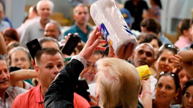 Les propos choquants et le geste improbable de Donald Trump à Porto Rico