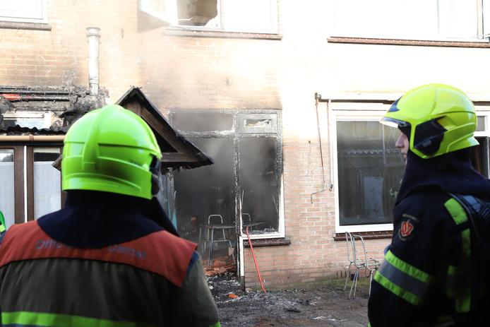Woningbrand in Culemborg