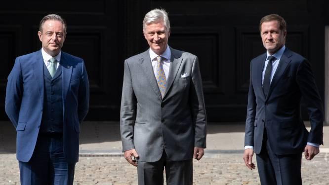 Le Roi confie à Bart De Wever et Paul Magnette la mission de mettre en place un gouvernement