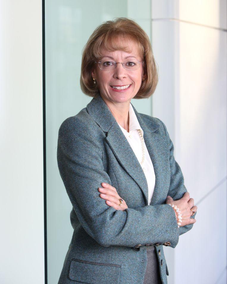 Nancy McKinstry van Wolters Kluwer kreeg over de periode 2016-2018 een beloning van 42,3 miljoen euro. Beeld Getty Images