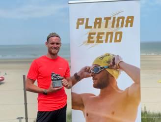 Matthieu Bonne krijgt de Platina Eend voor sportverdienste van het jaar in thuisgemeente