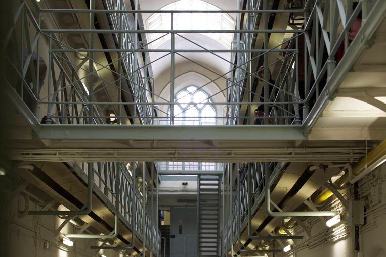 De gevangenis van Leuven. Beeld BELGA