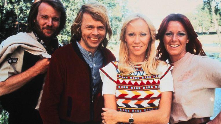 Portret uit 1978 van de bekende Zweedse popgroep. Beeld PHOTO_NEWS