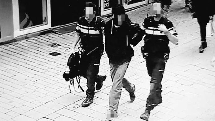 Winkeldief aangehouden in het centrum van Tilburg.
