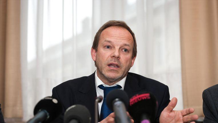 Niet-benoemde burgemeester van Linkebeek Damien Thiery. Beeld BELGA