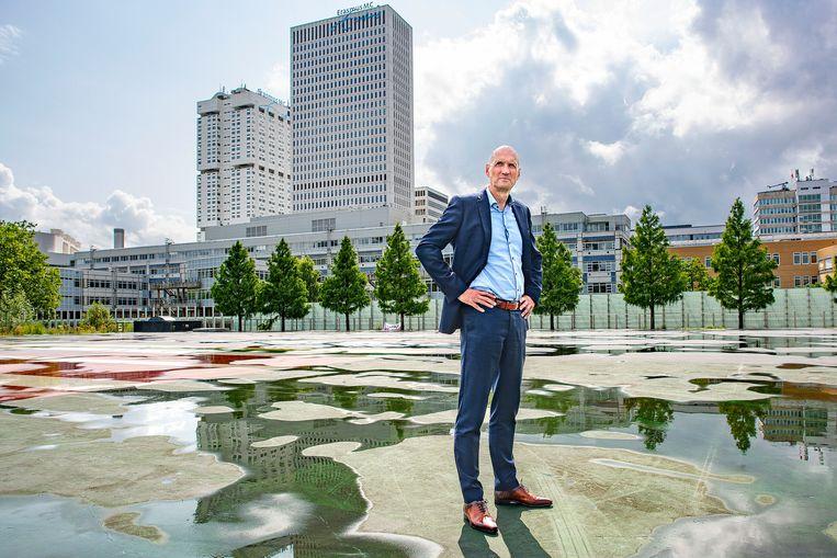Ernst Kuipers,  bestuursvoorzitter Erasmus Medisch Centrum. Beeld  Guus Dubbelman / de Volkskrant