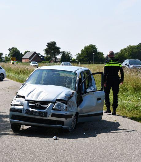 Automobilist die doorreed na ernstig ongeval wordt onwel na aanhouding