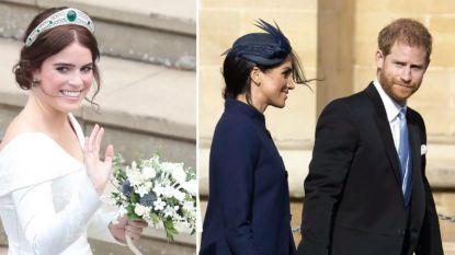 """""""Prinses Eugenie was kwaad omdat Harry en Meghan hun zwangerschap aankondigden tijdens haar trouwfeest"""""""