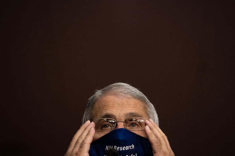 Top-viroloog Anthony Fauci. Beeld Getty Images