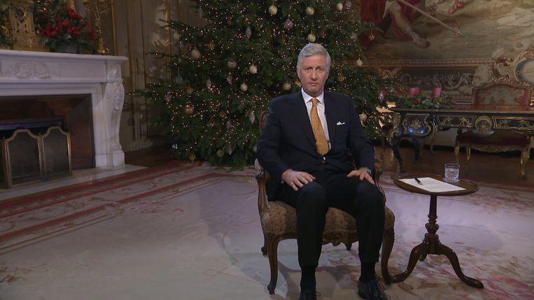 Kerstboodschap koning Filip Beeld VTM Nieuws