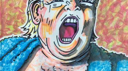 Jim Carrey irriteert de Republikeinen al een hele poos met zijn schilderijen