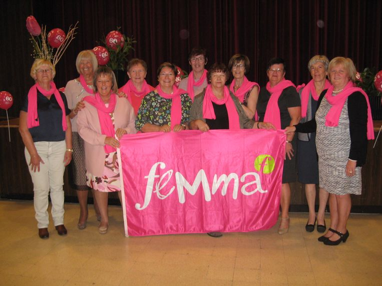 De leden van Femma Sterrebeek vierden de 60ste verjaardag van de vereniging.