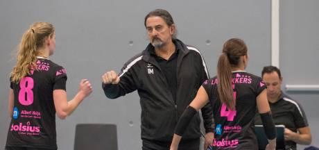 Volleybalsters FAST maken het titelfavoriet Sliedrecht bij vlagen lastig