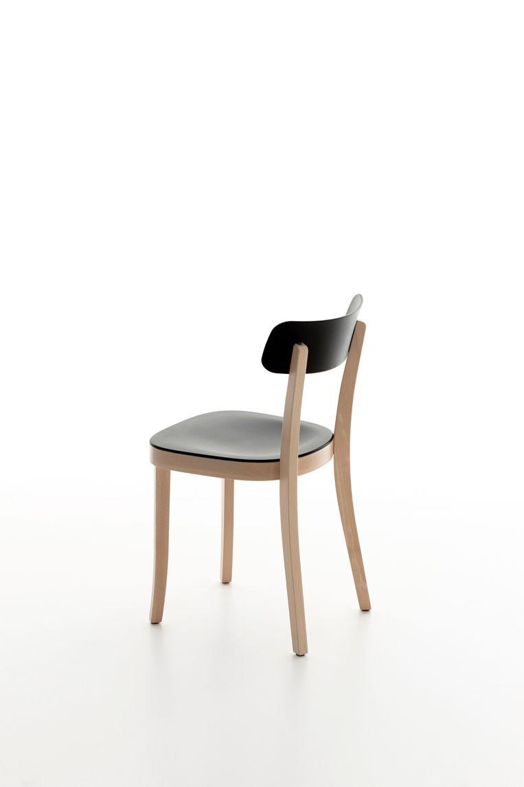 Zijn Basel Chair, verkrijgbaar bij Vitra Beeld RV
