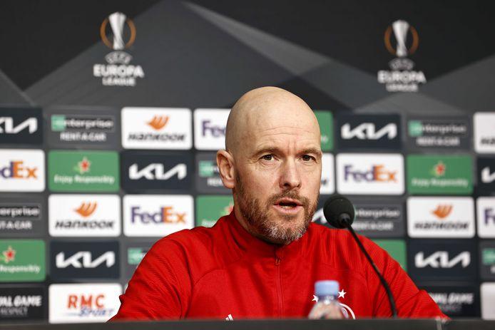 Ajax-trainer Erik ten Hag