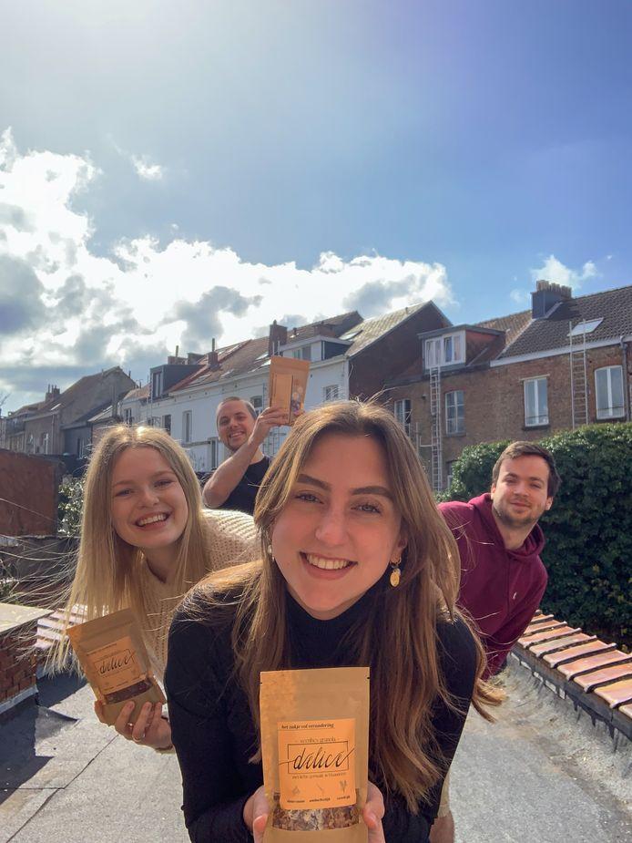 Leuvense studenten gaan samenwerking aan tegen voedselverspilling.