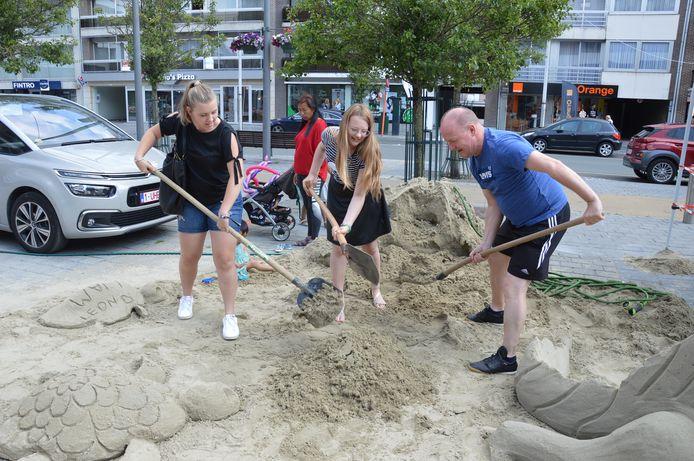 'Family First day' in en rond het Ninia Shopping Center in Ninove.