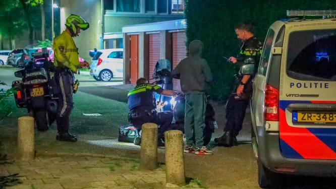 Snorfietser is niet voor niets op de vlucht voor de politie in Liendert