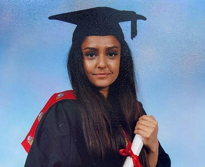 Sabina Nessa, une Britannique de 28 ans, a été retrouvée morte la semaine dernière dans un parc de Londres.