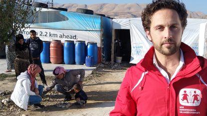"""'Thuis'-acteur Christophe Haddad trok voor SOS Kinderdorpen naar Libanon: """"Ik ben tot op het bot geraakt"""""""