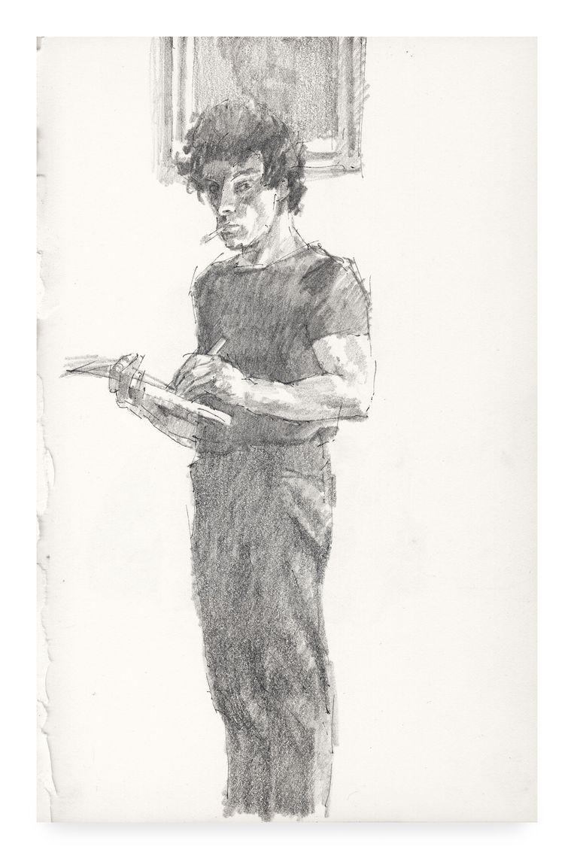 Zelfportret. Beeld Peter Vos